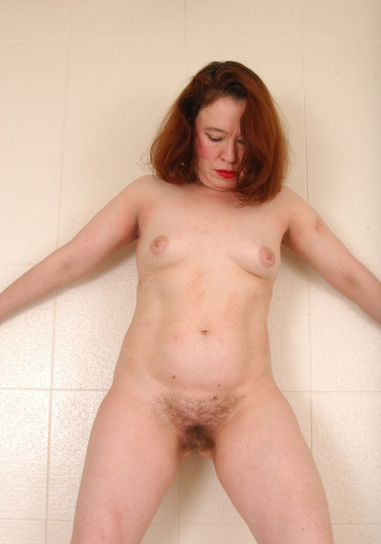 redhead milf hairy pussy